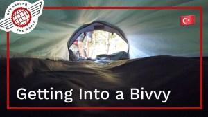How to Get Into a Bivvy Bag?