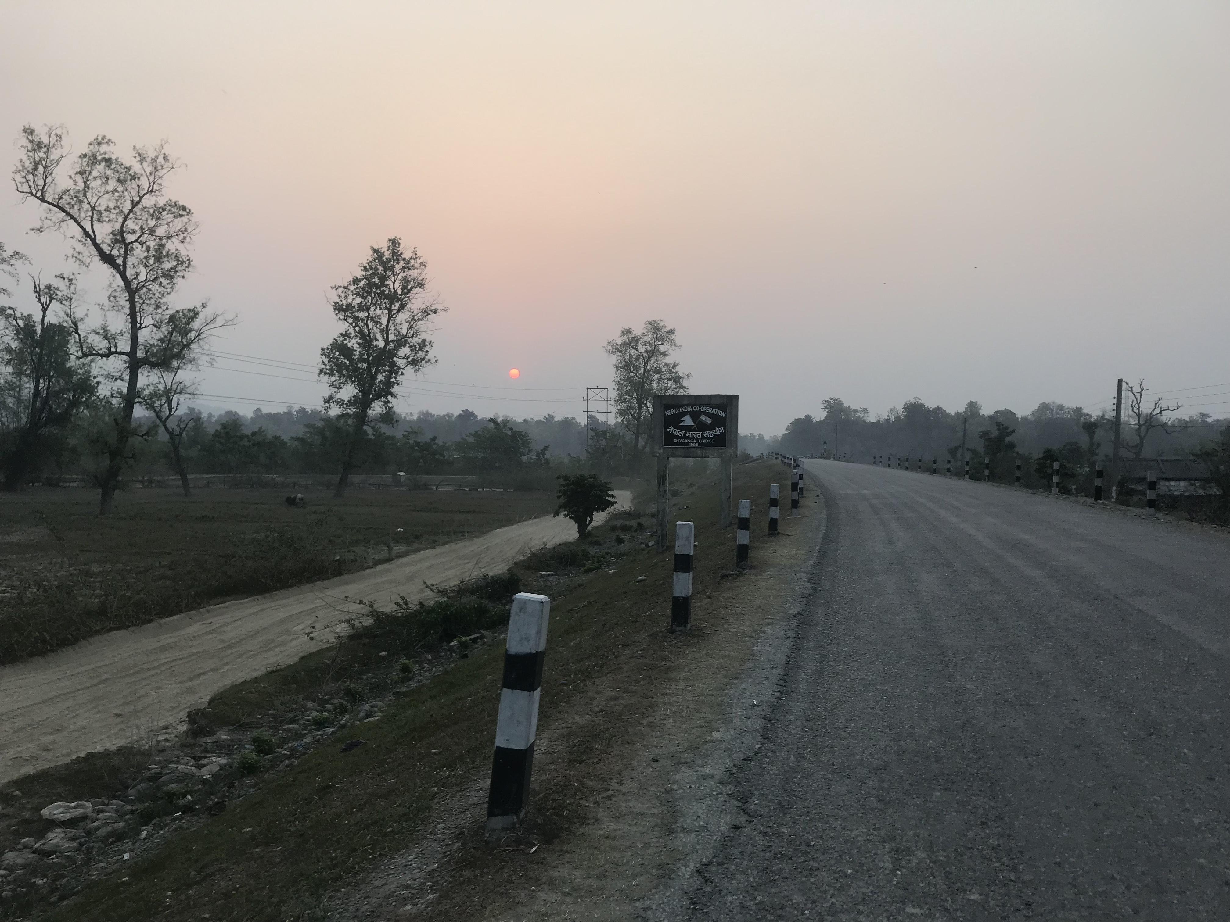 India-Nepal Border Crossing at Bhimdatta with UK Passport and Nepal Telecom SIM  – Ben Around the World Diary – Day 98 – 4 April 2019