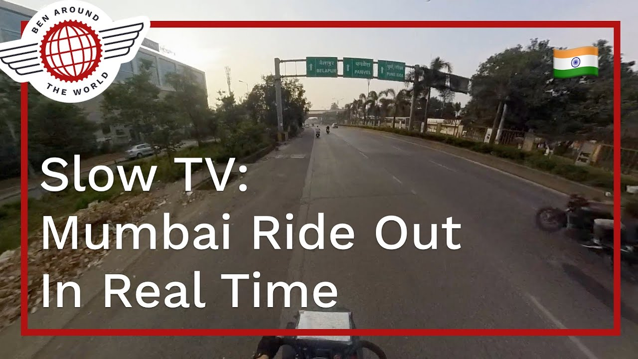 Slow TV: Full Cycle Out of Central Mumbai
