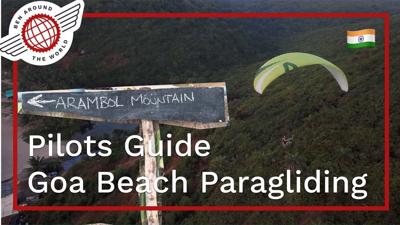 Goa Beach Paragliding – Pilots Guide