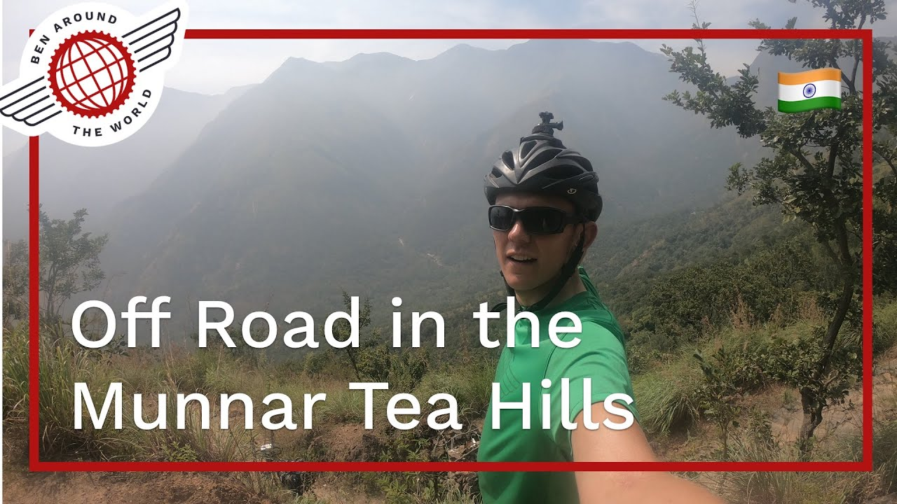 Off Road in the Munnar Tea Hills, India Bikepacking