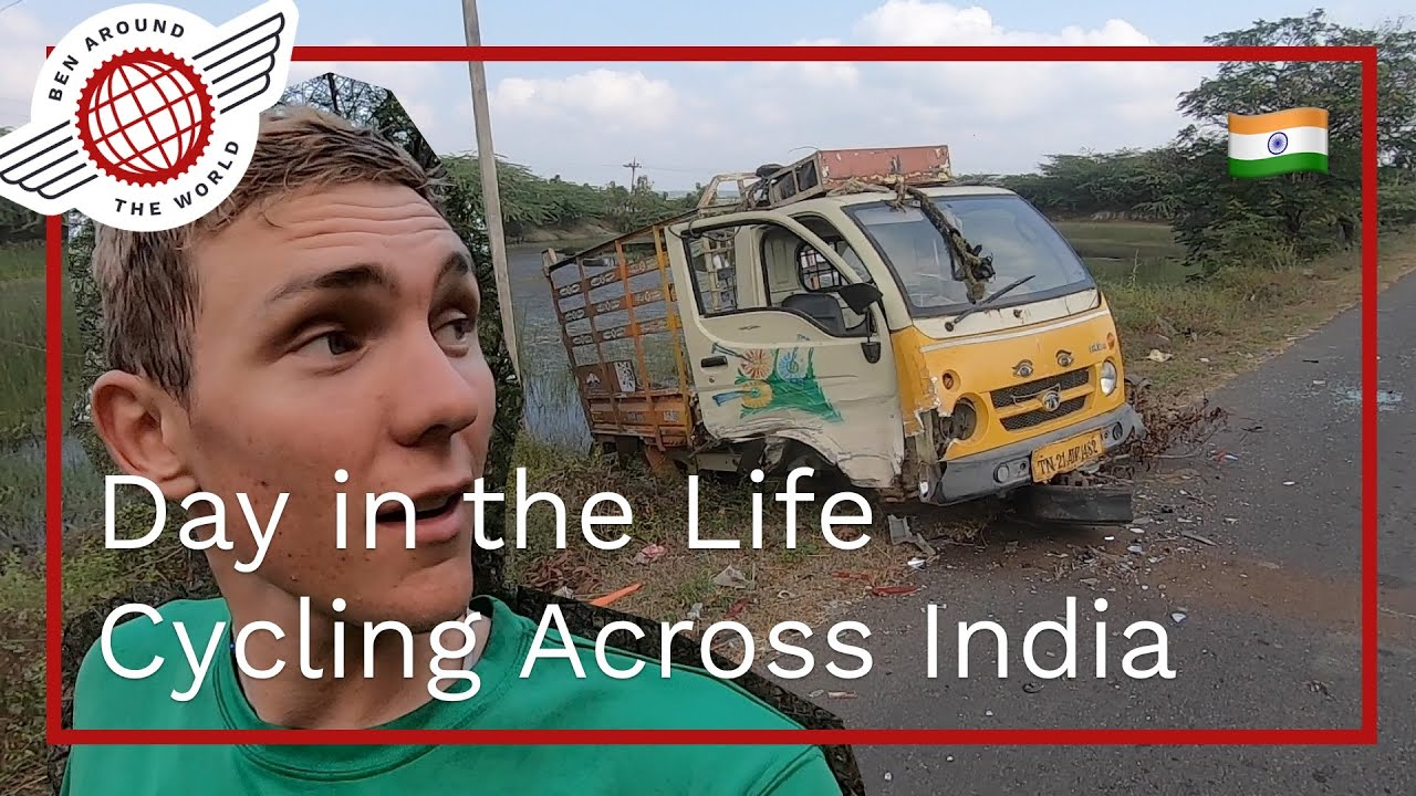 Day in the Life, Cycling/Bikepacking Across India
