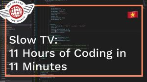 11 Hours of Coding in 11 Minutes – SlowTV: Building the SendMusic App  #gridreel