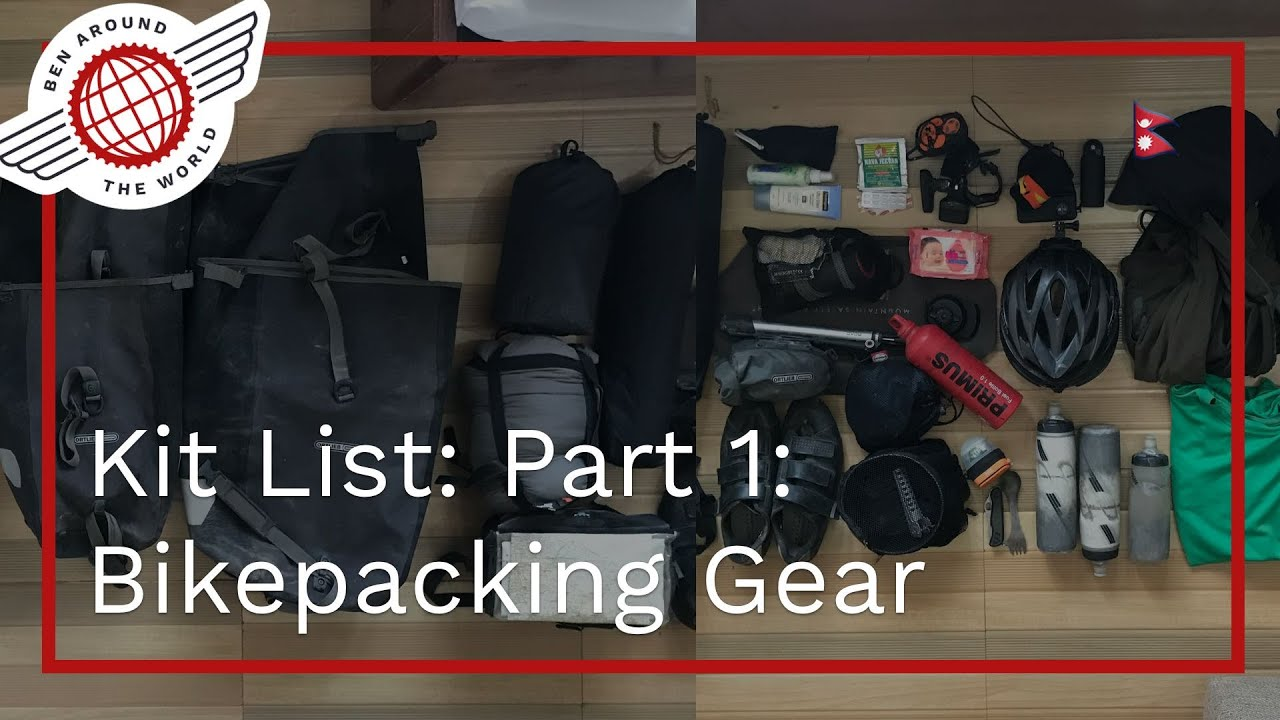 Bikepacking vs Cycle Touring – Kit List: Part 1