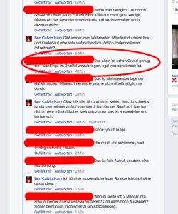 Hasskommentare: Einblick in den Verstand eines Rechten.