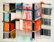 OpenBlocks01 - 110cmX140cm, oil, acryl on canvas, 2013