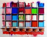 OpenBlocks02 - 110cmX140cm, oil, acryl on canvas, 2013