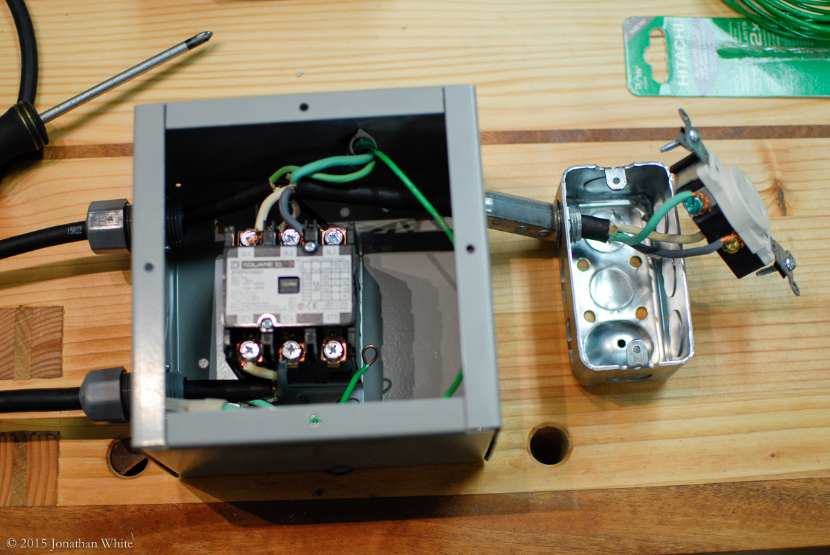 How To Set Up A Wireless Remote Control Switch For Your Wood Shop On Off Circuit Schematic Diagram All Wired