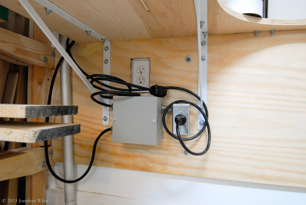 How To Set Up A Wireless Remote Control Switch For Your Wood Shop 2 Way Hook The Wires Need Be Tidied