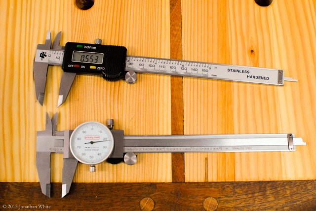 I double checked my measurements to make sure that my digital caliper was not faulty.