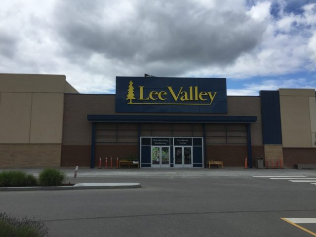 The Lee Valley store in Kelowna, BC.