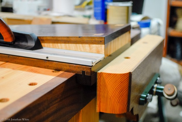 Clamping in the vise prevents any movement while in use.