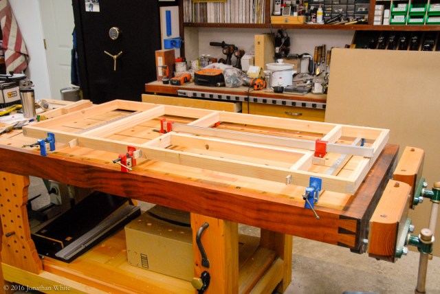 Glue-up time once more.