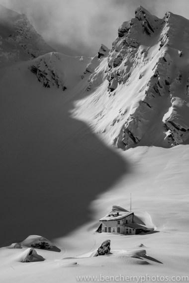 Ice Hotel in monochrome-8
