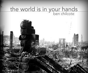 THE WORLD IS IN YOUR HANDS Ad