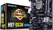 Gigabyte presenta una nueva placa base con el chipset H97, la H97-DS3H