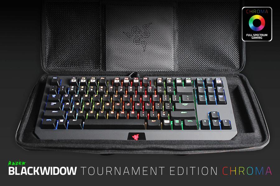 El teclado Razer BlackWidow Tournament Edition Chroma ya está disponible