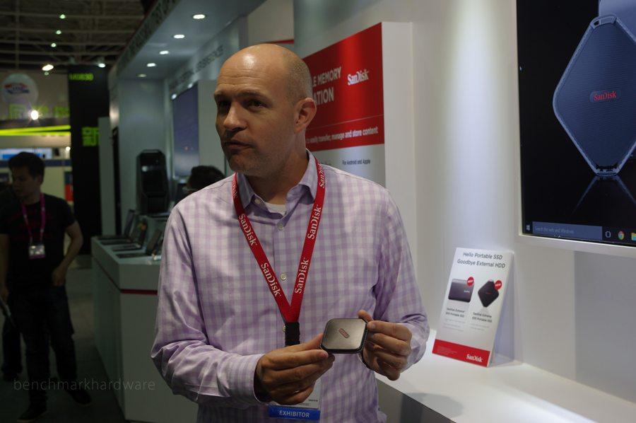 Computex 2015: Sandisk anuncia SSDs externos USB 3.1c