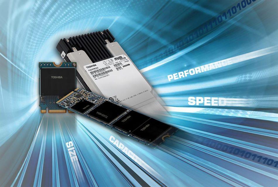 Toshiba anuncia tres nuevos NVMe SSDs