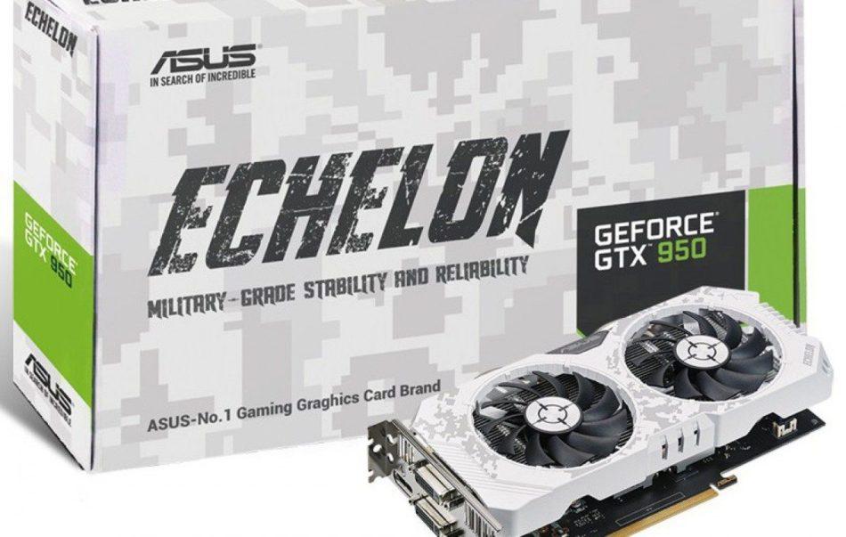 ASUS presenta la Echelon GTX 950