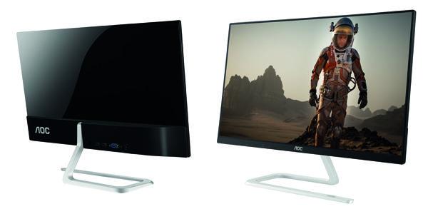 Monitores finos y elegantes para todos:  AOC amplía su línea Style