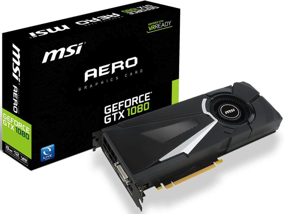 Computex 2016 MSI confirma las GeForce GTX 1080 Gaming, Armor, SeaHawk y Aero