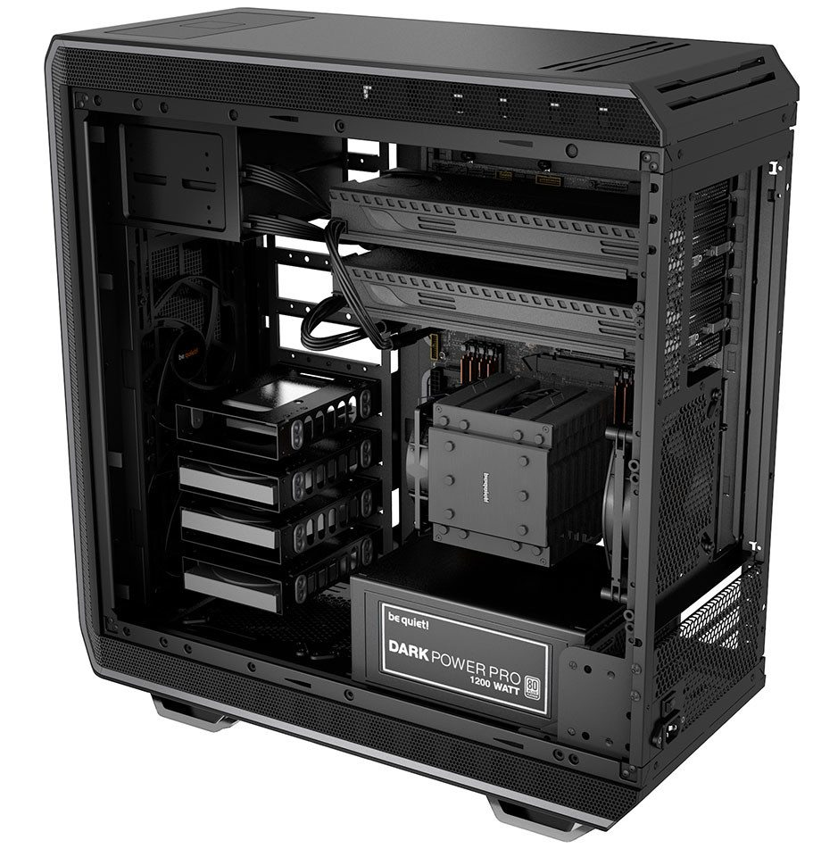 Be quiet! Anuncia su nueva serie de chasis Dark Base 900
