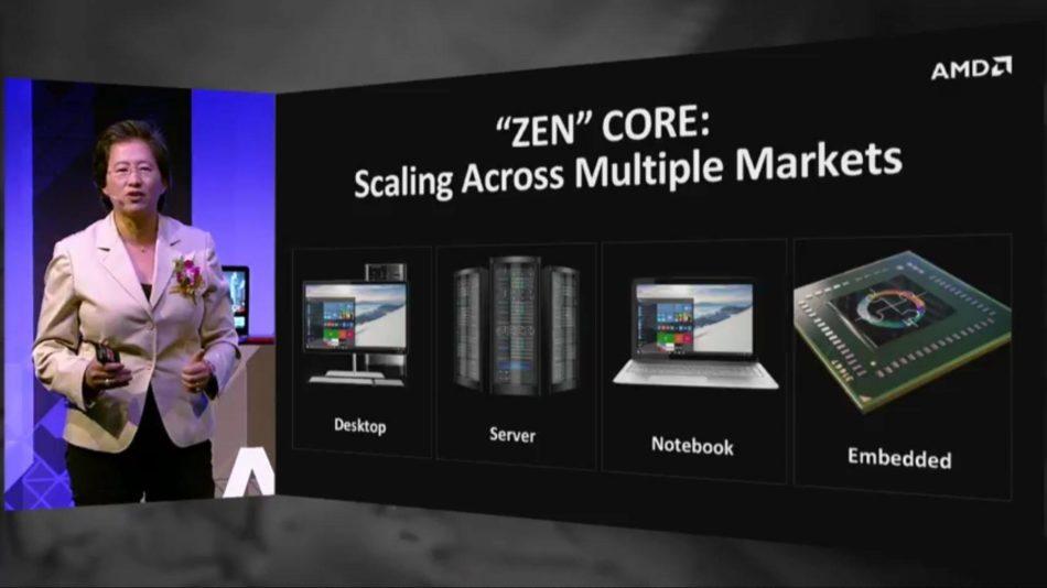 AMD tendría procesadores Zen a finales de 2016