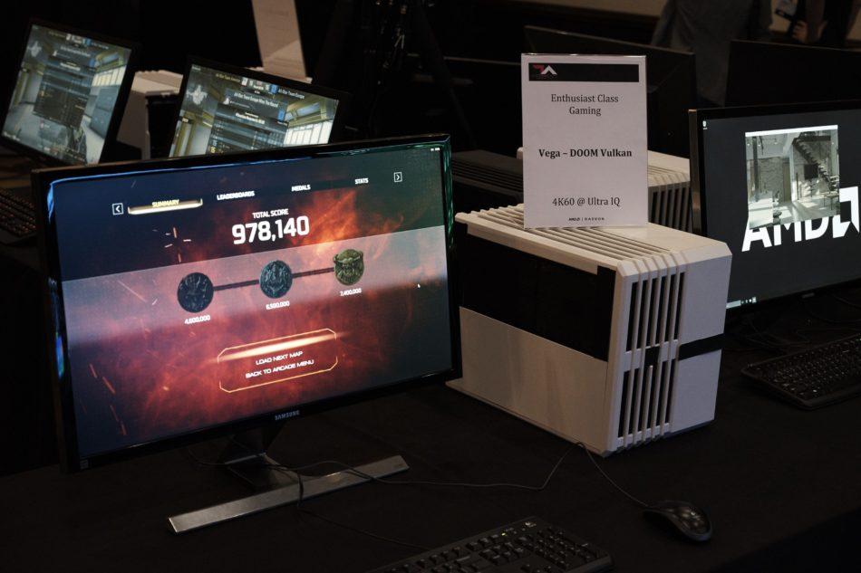 AMD Vega ofrece rendimiento para Doom en Ultra y 60FPS 4K