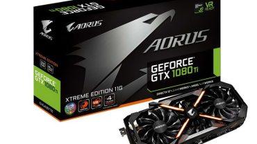 GIGABYTE AORUS GTX 1080 Ti se une a la nueva familia de NVIDIA