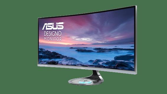 ASUS presenta el monitor Designo Curve MX34VQ