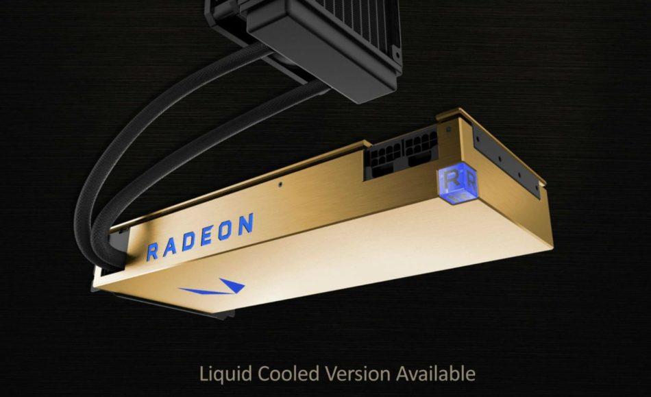 AMD presenta su Radeon Vega Frontier Edition