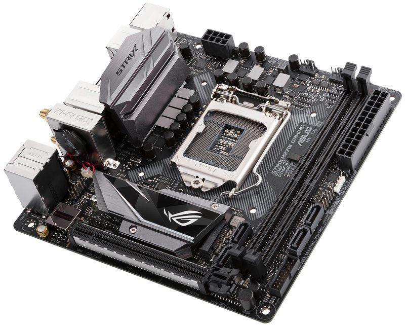 ASUS RoG presenta las placas Strix H270I Gaming y B250I Gaming