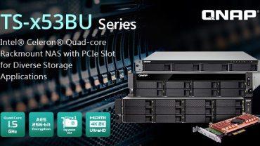 QNAP presenta la serie TS-x53BU del NAS Quad-core de montaje en rack con SSD PCIe M.2