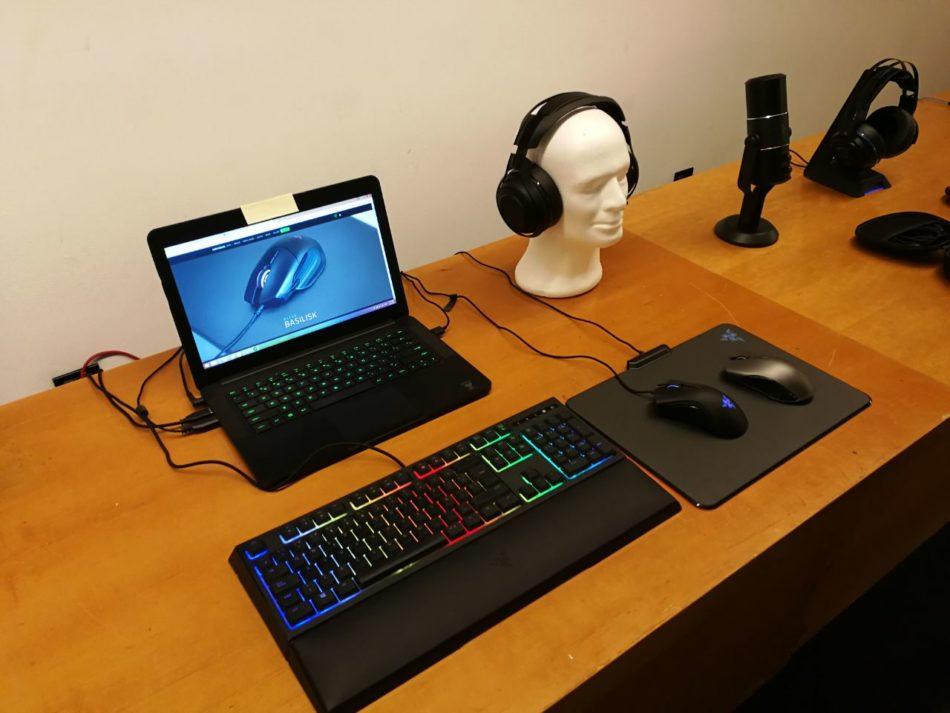 Razer nos presenta sus productos en Barcelona Games World