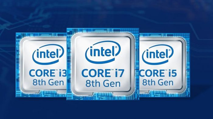 Se muestran los Intel Coffee Lake de 8 cores para el chipset Z390