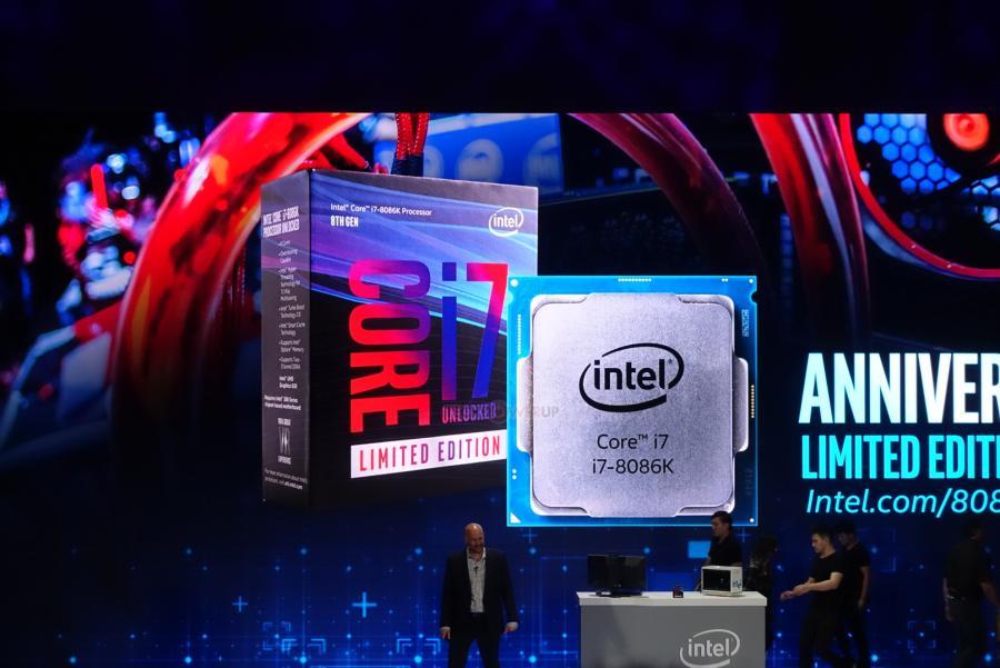 Computex 2018 – Intel anuncia el Core i7-8086K