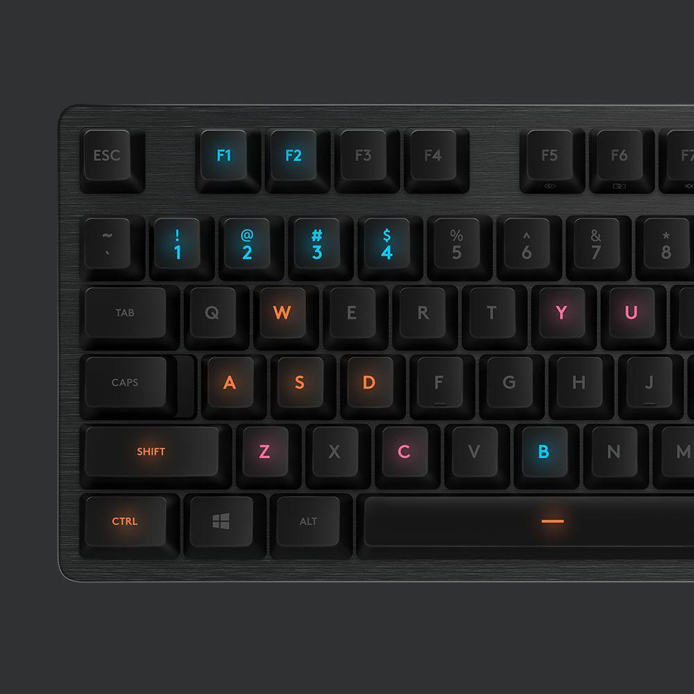 Logitech G presenta el nuevo teclado mecánico G512 y el Switch GX Blue