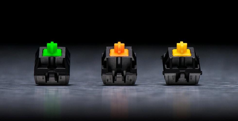 Computex 2018 – Los Switches mecánicos Razer se verán en más teclados