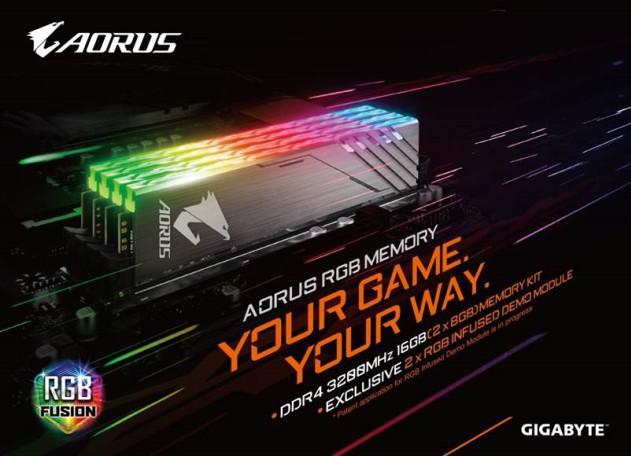 Computex 2018 – Aorus anuncia sus memorias DDR4