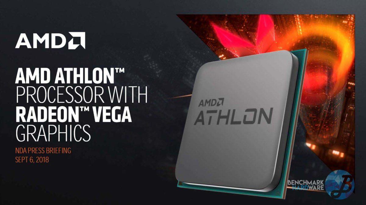 AMD anuncia el nuevo procesador AMD Athlon 200GE