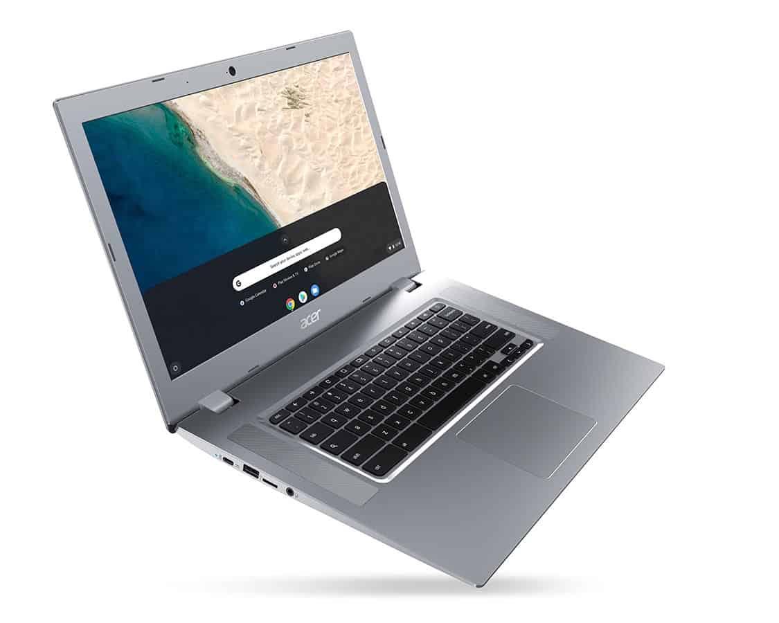 CES 2019 – Acer presenta el Acer Chromebook 315, su primer Chromebook con CPUs AMD serie A