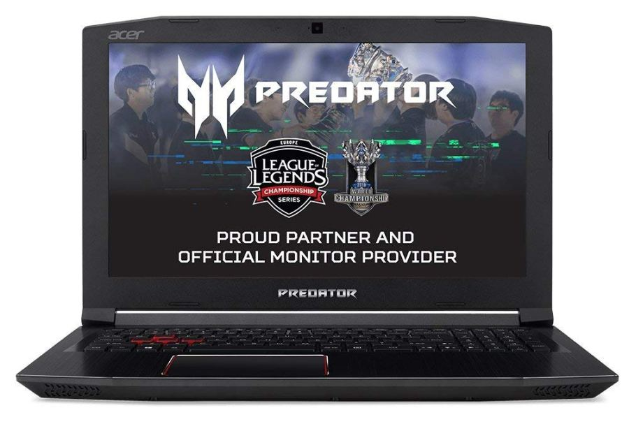 "Acer Predator Helios 300 PH317-52-78X3 - Ordenador portátil de 17.3"" Full HD (Intel Core i7-8750H, 16 GB RAM, 256 GB SSD, 1000 GB HDD, Nvidia GeForce GTX 1050Ti, Linux) Negro - Teclado QWERTY Español"
