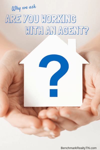 are you working with an agent- Benchmark Realty