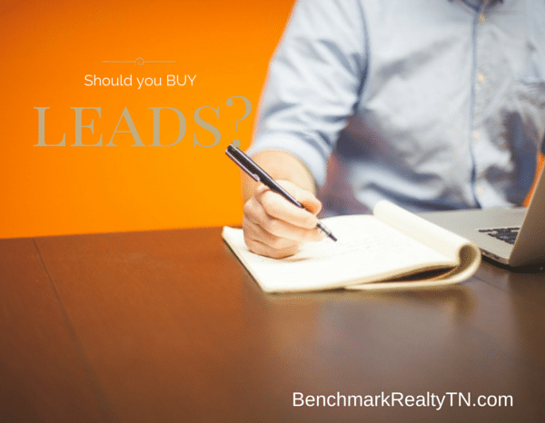 should you buy leads-Benchmark Realty TN