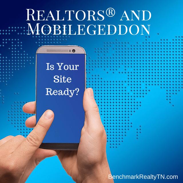 Realtors and Mobilegeddon