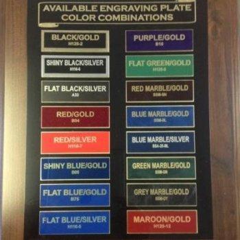 Individual Plates