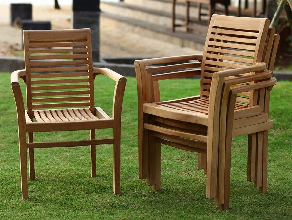 Outdoor Furniture Teak Dining Chairs
