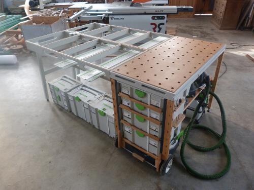 Mfsc Multi Function Shop Cart