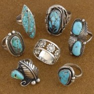 Every turquoise ring has the same effect, so why do we have more than we have fingers? It's because they look fabulous in a jewelry box.